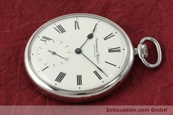 Used luxury watch IWC Taschenuhr steel manual winding Kal. C.972 Ref. 5301  | 141961 03