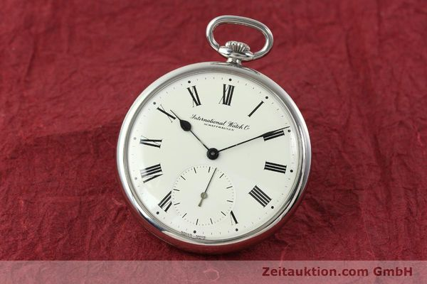 Used luxury watch IWC Taschenuhr steel manual winding Kal. C.972 Ref. 5301  | 141961 04