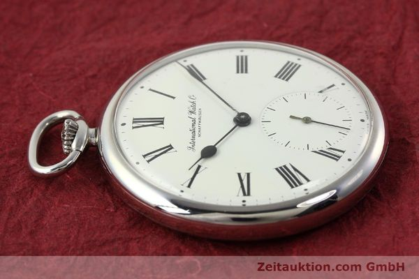 Used luxury watch IWC Taschenuhr steel manual winding Kal. C.972 Ref. 5301  | 141961 05