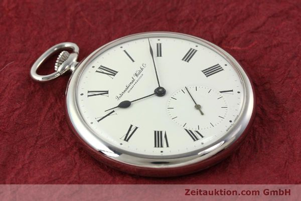 Used luxury watch IWC Taschenuhr steel manual winding Kal. C.972 Ref. 5301  | 141961 13
