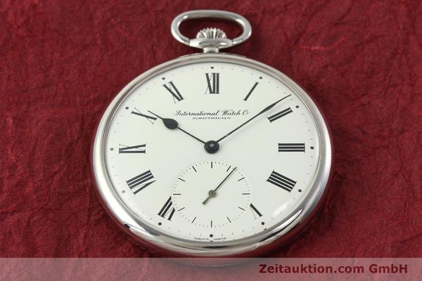 Used luxury watch IWC Taschenuhr steel manual winding Kal. C.972 Ref. 5301  | 141961 14