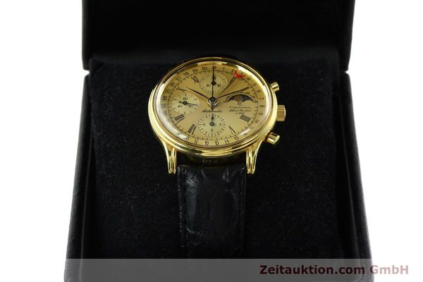 Used luxury watch Chronoswiss A. Rochat chronograph gold-plated automatic Kal. VAL 7750  | 141963 07