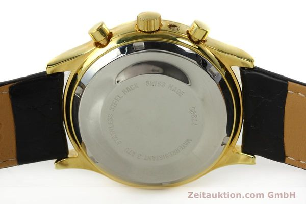 Used luxury watch Chronoswiss A. Rochat chronograph gold-plated automatic Kal. VAL 7750  | 141963 09