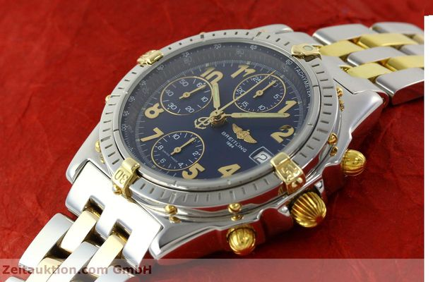 Used luxury watch Breitling Chronomat chronograph steel / gold automatic Kal. B13 ETA 7750 Ref. B13050.1  | 141964 01