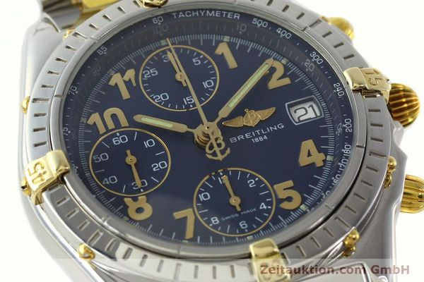 Used luxury watch Breitling Chronomat chronograph steel / gold automatic Kal. B13 ETA 7750 Ref. B13050.1  | 141964 02