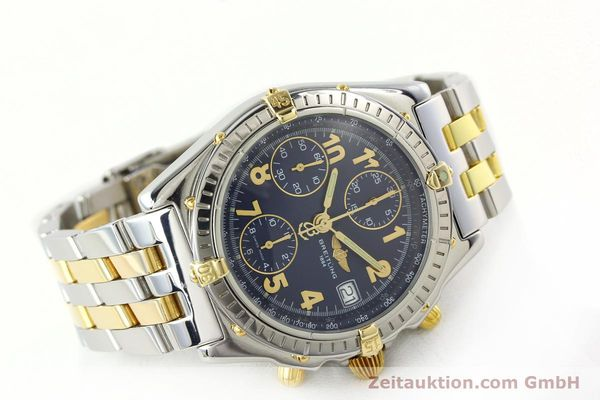 Used luxury watch Breitling Chronomat chronograph steel / gold automatic Kal. B13 ETA 7750 Ref. B13050.1  | 141964 03