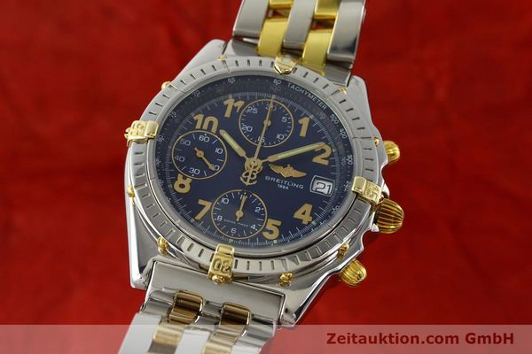 Used luxury watch Breitling Chronomat chronograph steel / gold automatic Kal. B13 ETA 7750 Ref. B13050.1  | 141964 04