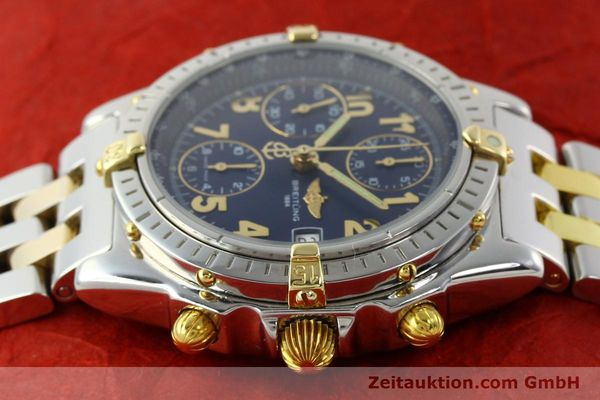 Used luxury watch Breitling Chronomat chronograph steel / gold automatic Kal. B13 ETA 7750 Ref. B13050.1  | 141964 05