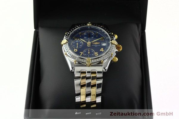 Used luxury watch Breitling Chronomat chronograph steel / gold automatic Kal. B13 ETA 7750 Ref. B13050.1  | 141964 07