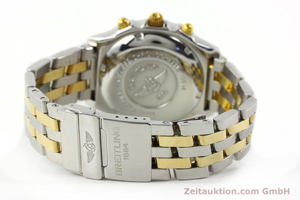 Used luxury watch Breitling Chronomat chronograph steel / gold automatic Kal. B13 ETA 7750 Ref. B13050.1  | 141964 11