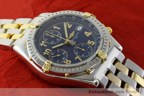 Used luxury watch Breitling Chronomat chronograph steel / gold automatic Kal. B13 ETA 7750 Ref. B13050.1  | 141964 14