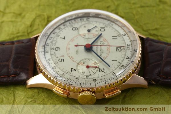 Used luxury watch Breitling Chronomat chronograph 18 ct gold manual winding Ref. 769  | 141965 05