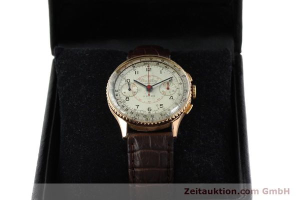Used luxury watch Breitling Chronomat chronograph 18 ct gold manual winding Ref. 769  | 141965 07