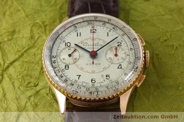 Used luxury watch Breitling Chronomat chronograph 18 ct gold manual winding Ref. 769  | 141965 14