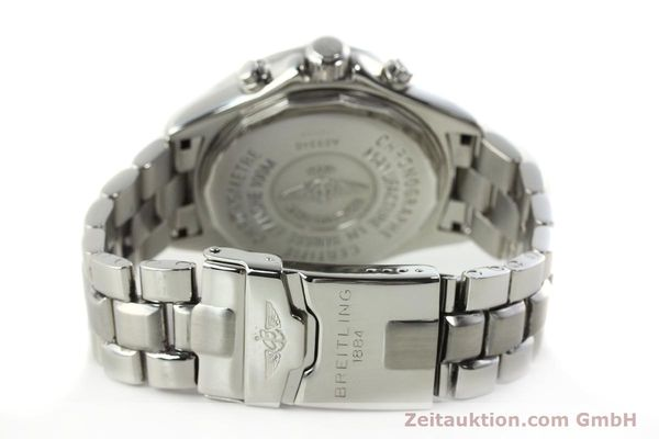 Used luxury watch Breitling Transocean chronograph steel quartz Kal. B53 ETA 251262 Ref. A53340  | 141966 10