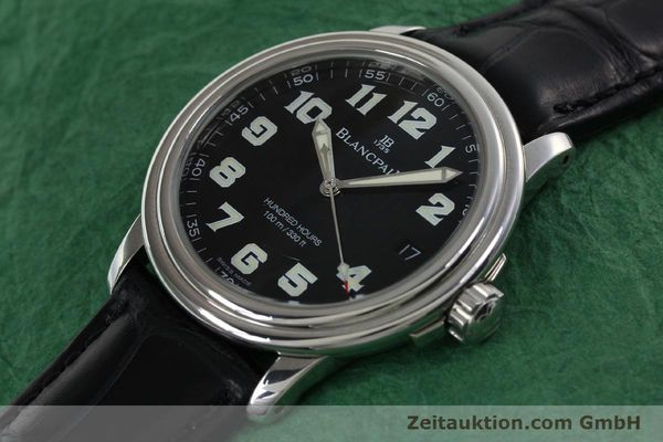 Used luxury watch Blancpain Leman steel automatic Kal. 11.51  | 141967 01