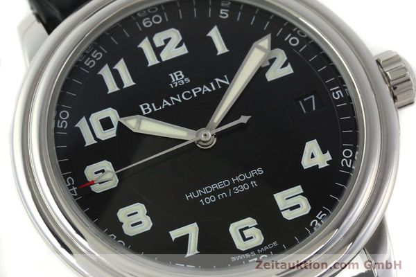 Used luxury watch Blancpain Leman steel automatic Kal. 11.51  | 141967 02