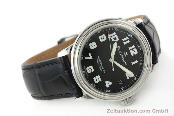 Used luxury watch Blancpain Leman steel automatic Kal. 11.51  | 141967 03