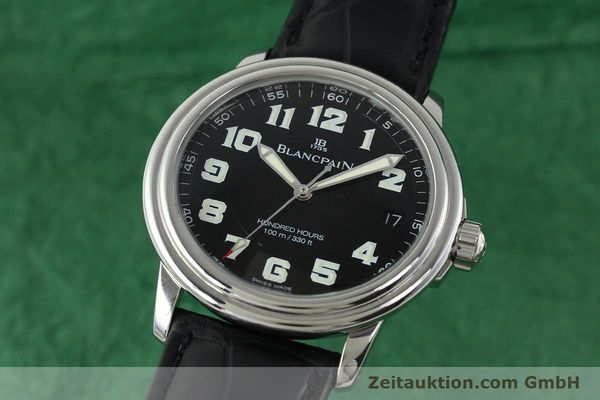 Used luxury watch Blancpain Leman steel automatic Kal. 11.51  | 141967 04