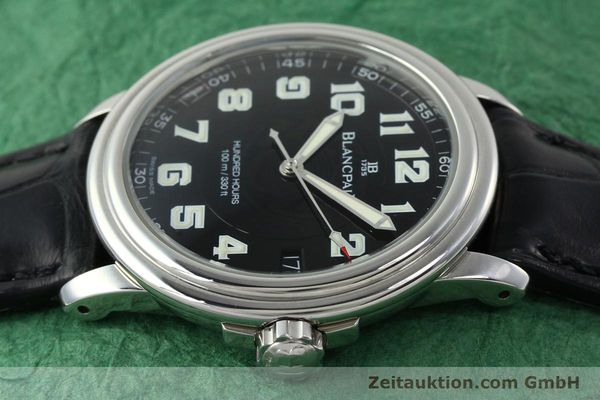 Used luxury watch Blancpain Leman steel automatic Kal. 11.51  | 141967 05