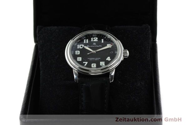 Used luxury watch Blancpain Leman steel automatic Kal. 11.51  | 141967 07