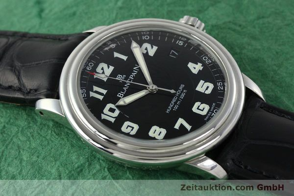 Used luxury watch Blancpain Leman steel automatic Kal. 11.51  | 141967 13