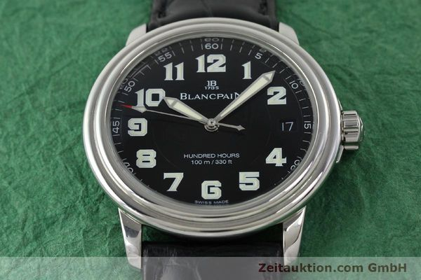 Used luxury watch Blancpain Leman steel automatic Kal. 11.51  | 141967 14