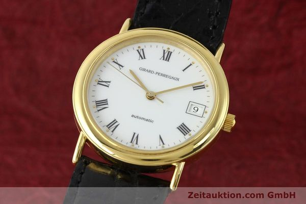 Used luxury watch Girard Perregaux * 18 ct gold automatic Kal. 220 Ref. 4799.51  | 141968 04
