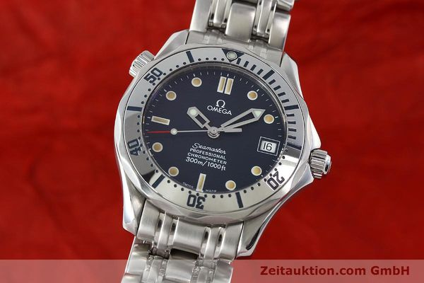 Used luxury watch Omega Seamaster steel automatic Kal. 1108 ETA 2892A2 Ref. 168.1502  | 141970 04