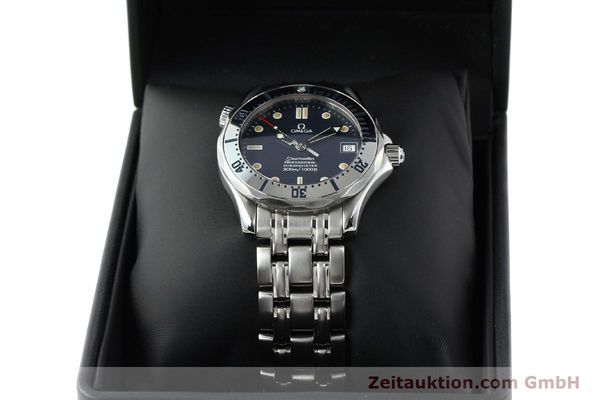 Used luxury watch Omega Seamaster steel automatic Kal. 1108 ETA 2892A2 Ref. 168.1502  | 141970 07