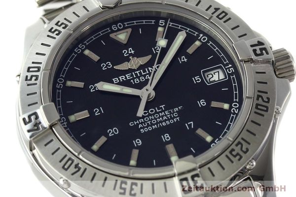 Used luxury watch Breitling Colt steel automatic Kal. B17 ETA 2824-2 Ref. A17350  | 141971 02