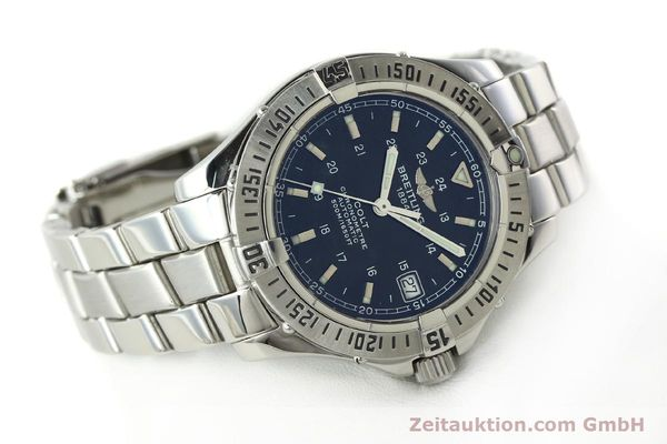 Used luxury watch Breitling Colt steel automatic Kal. B17 ETA 2824-2 Ref. A17350  | 141971 03