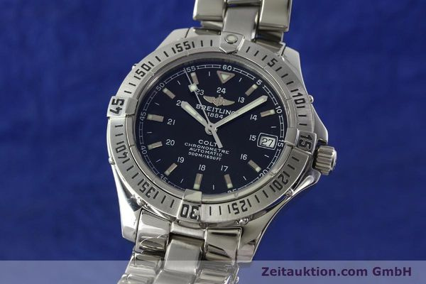 Used luxury watch Breitling Colt steel automatic Kal. B17 ETA 2824-2 Ref. A17350  | 141971 04