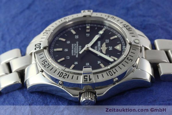 Used luxury watch Breitling Colt steel automatic Kal. B17 ETA 2824-2 Ref. A17350  | 141971 05