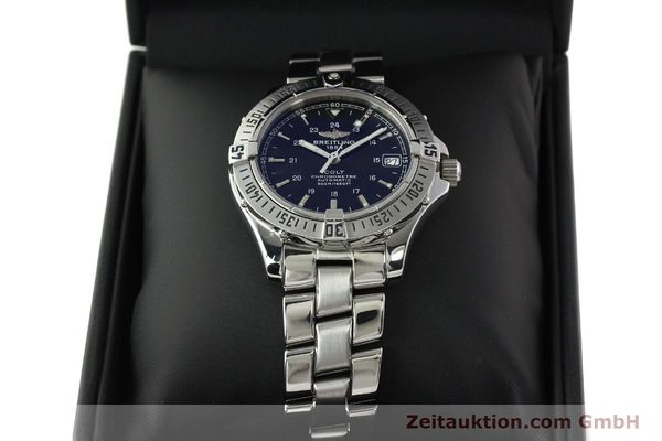 Used luxury watch Breitling Colt steel automatic Kal. B17 ETA 2824-2 Ref. A17350  | 141971 07