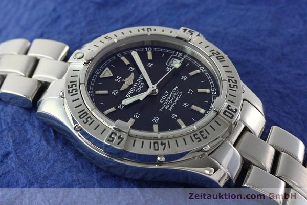 Used luxury watch Breitling Colt steel automatic Kal. B17 ETA 2824-2 Ref. A17350  | 141971 14