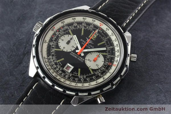 Used luxury watch Breitling Chrono-Matic chronograph steel automatic Kal. 11 Ref. 1806  | 141972 01