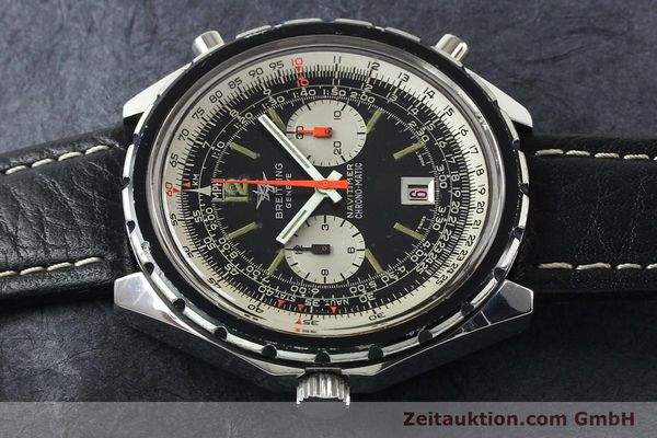 Used luxury watch Breitling Chrono-Matic chronograph steel automatic Kal. 11 Ref. 1806  | 141972 05