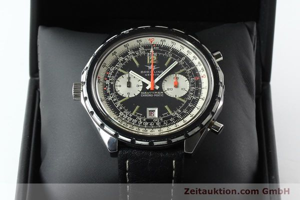 Used luxury watch Breitling Chrono-Matic chronograph steel automatic Kal. 11 Ref. 1806  | 141972 07