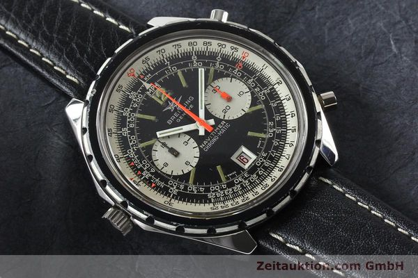 Used luxury watch Breitling Chrono-Matic chronograph steel automatic Kal. 11 Ref. 1806  | 141972 13