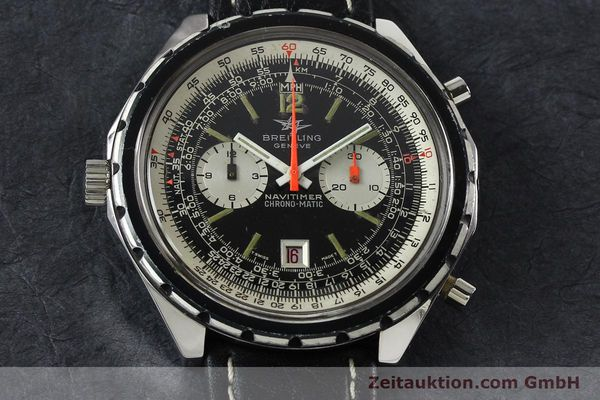 Used luxury watch Breitling Chrono-Matic chronograph steel automatic Kal. 11 Ref. 1806  | 141972 14