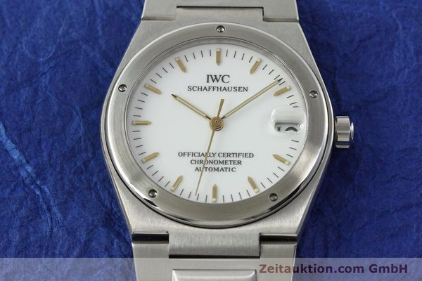 Used luxury watch IWC Ingenieur steel automatic Kal. 887 Ref. 3521  | 141973 16