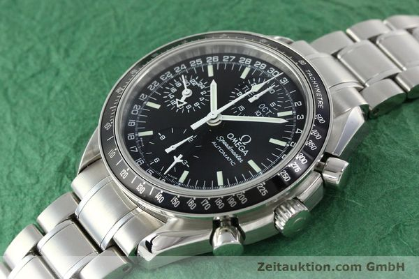 Used luxury watch Omega Speedmaster chronograph steel automatic Kal. 1151  | 141974 01