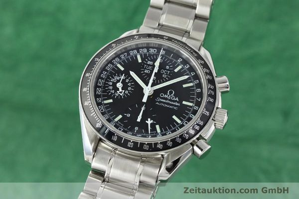 Used luxury watch Omega Speedmaster chronograph steel automatic Kal. 1151  | 141974 04