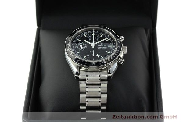 Used luxury watch Omega Speedmaster chronograph steel automatic Kal. 1151  | 141974 07