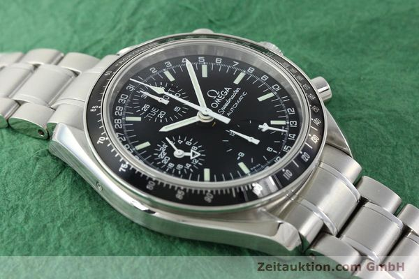 Used luxury watch Omega Speedmaster chronograph steel automatic Kal. 1151  | 141974 15