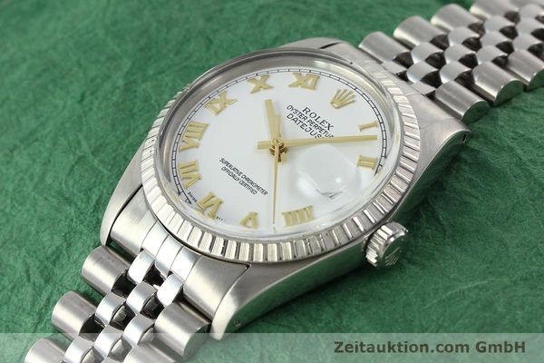 Used luxury watch Rolex Datejust steel automatic Kal. 3035 Ref. 16030  | 141976 01