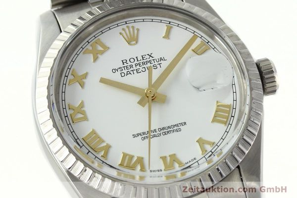 Used luxury watch Rolex Datejust steel automatic Kal. 3035 Ref. 16030  | 141976 02