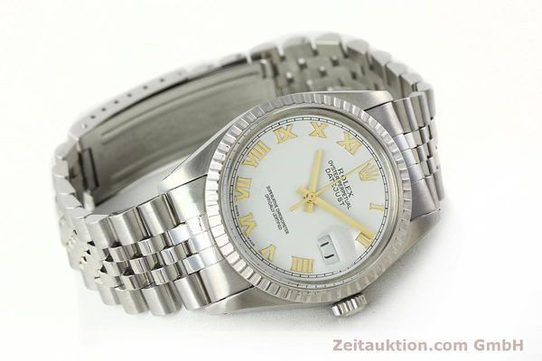 Used luxury watch Rolex Datejust steel automatic Kal. 3035 Ref. 16030  | 141976 03