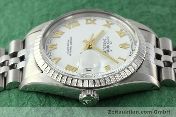 Used luxury watch Rolex Datejust steel automatic Kal. 3035 Ref. 16030  | 141976 05